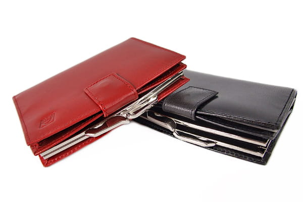 Skórzany portfel damski - klasyczny i funkcjonalny