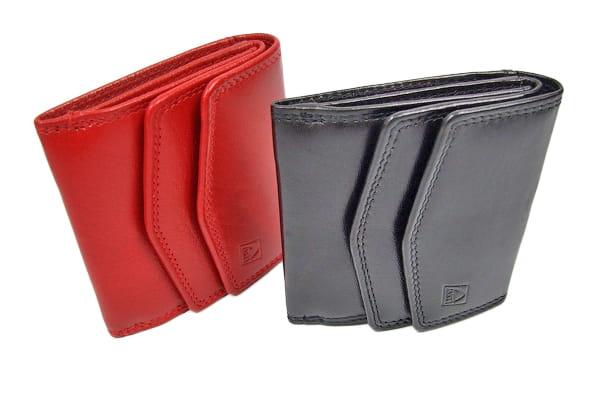 Praktyczny i funkcjonalny mały portfel damski