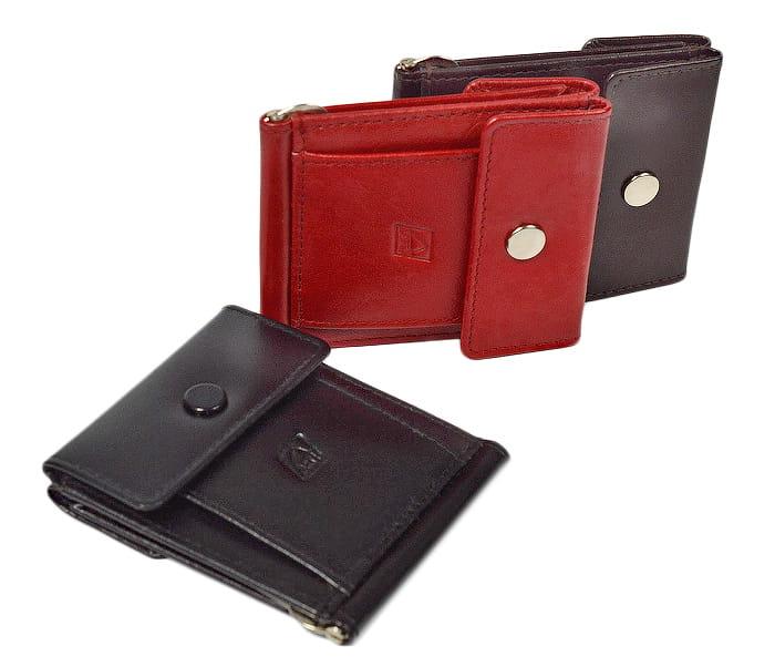 Banknotówka portfel skórzany taksówkarza