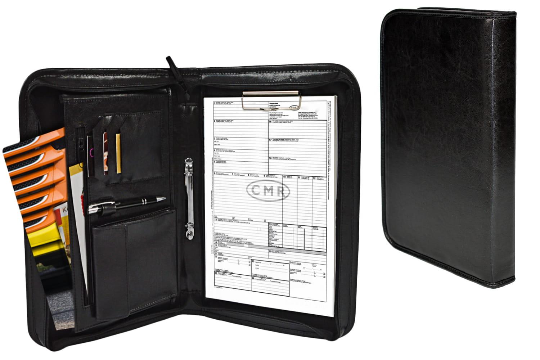 Aktówka, Teczka kierowcy mieści CMR, format A4