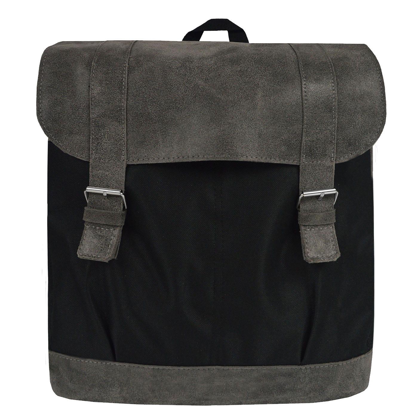 Duży Plecak Skórzany TSM18 - mieści laptopa