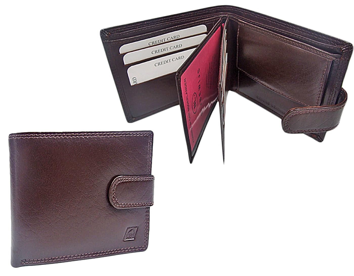 Skórzany portfel męski stylowy i wygodny
